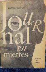 Eugene Ionesco, Journal en miettes - Paris, 1967 *Dedicatie