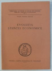 EVOLUTIA STIINTEI ECONOMICE de PAUL HORIA SUCIU , 1943