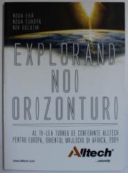 EXPLORAND NOI ORIZONTURI de IOANA POPESCU , 2004