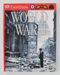 EYEWITNESS - WORLD WAR II  , written by SIMON ADAMS  , 2004