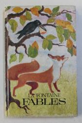 FABLES par LA FONTAINE , 1970 *EDITIE BILINGVA
