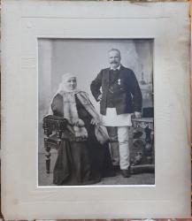 FAMILIE NEGUSTORI BRASOVENI - FOTOGRAFIE ORIGINALA