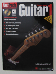 FAST TRACK MUSIC INSTRUCTION  - GUITAR ELECTRIC OR ACOUSTIC , 1  - CD INCLUS *, 1997