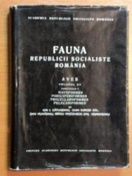 FAUNA REPUBLICII SOCIALISTE ROMANIA,VOL. XV,1978
