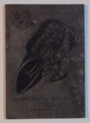 FEDERATIA ROMANA DE CICLISM SI MOTOCICLISM. CAMPIONATUL ROMANIEI, VITEZA, PREMIUL AL II-LEA 1942