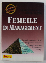 FEMEILE IN MANAGEMENT de SUSAN VINNICOMBE si NINA L. COLWILL , 1998