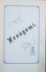 FESAGOMI - SFARSIT SECOL 19