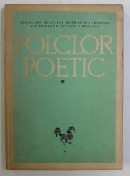 FOLCLOR POETIC VOL. I de PAVEL RUXANDOIU , 1967