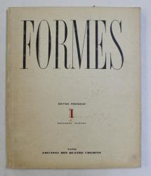 FORMES , REVUE INTERNATIONALE DES ARTS PLASTIQUES , I , NO. 1 , 1929