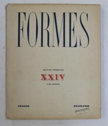 FORMES , REVUE INTERNATIONALE DES ARTS PLASTIQUES , XXIV , NO. 24 , 1932