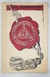 FRANCMASONERIA IN MEDALII, HIRAM - BUCURESTI, 1934