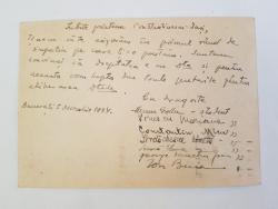 Gellu Naum, Scrisoare trimisa catre Prof. P. Constantinescu-Iasi, Inchisoarea Militara Chisinau