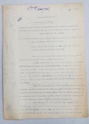 GEO BOGZA  - ALEGERILE DIN FRANTA  -  VARIANTA - ARTICOL PENTRU ZIAR , DACTILOGRAFIAT , CU CORECTURILE,  MODIFICARILE SI ADAUGIRILE OLOGRAFE ALE AUTORULUI , 1936