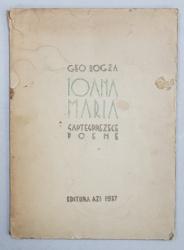 Geo Bogza, Ioana Maria - Bucuresti, 1937