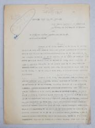GEO BOGZA  - MARSEVIA UNEI COLONII SCOLARE  - ARTICOL PENTRU ZIAR , DACTILOGRAFIAT , CU CORECTURILE,  MODIFICARILE SI ADAUGIRILE OLOGRAFE ALE AUTORULUI , 1935