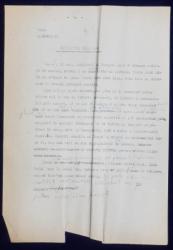 GEO BOGZA  - MONUMENTUL DE LA ADUA  - ARTICOL PENTRU ZIAR , DACTILOGRAFIAT , CU CORECTURILE,  MODIFICARILE SI ADAUGIRILE OLOGRAFE ALE AUTORULUI , 1935