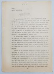 GEO BOGZA  - OAMENI IN DAMBOVITA    - ARTICOL PENTRU ZIAR , DACTILOGRAFIAT , CU CORECTURILE,  MODIFICARILE SI ADAUGIRILE OLOGRAFE ALE AUTORULUI , 1936