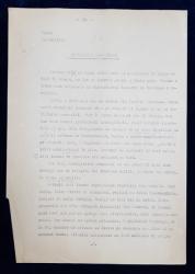 GEO BOGZA  - REPRESIUNI SANGEROASE   - ARTICOL PENTRU ZIAR , DACTILOGRAFIAT , CU CORECTURILE,  MODIFICARILE SI ADAUGIRILE OLOGRAFE ALE  AUTORULUI , 1935