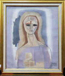Gheorghe Saru - Potret de femeie