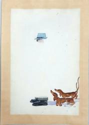 Gilly (Anghel Ghe. Pomescu) - Caricatura