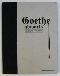 GOETHE ABWARTS - DEUTSCHE JUNGS ETC . , - THE FALCKENBERG COLLECTION , edited by TOMITIUS / REDIGERING / OLIVER ZYBOK , 2006
