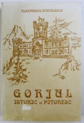 GORJUL ISTORIC SI PITORESC de ALEXANDRU STEFULESCU , 1904.