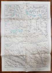 Harta Ananiev, 1914