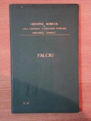 HARTA CAILOR DE COMUNICATIE DIN JUDETUL FALCIU IN ANUL 1903