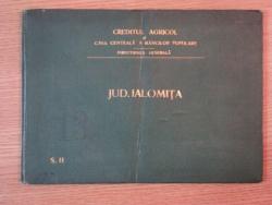 HARTA CAILOR DE COMUNICATIE DIN JUDETUL IALOMITA  IN ANUL 1903