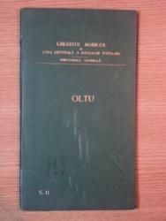 HARTA CAILOR DE COMUNICATIE DIN JUDETUL OLTU IN ANUL 1903