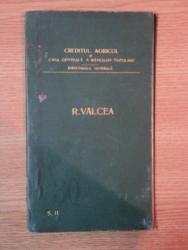 HARTA CAILOR DE COMUNICATIE DIN JUDETUL R. VALCEA IN ANUL 1903