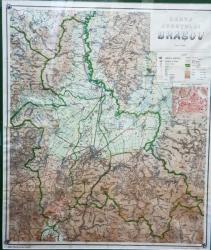 Harta Orasului Brasov, 1922