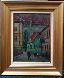 Henri Visconte (1897-1978) - Noaptea pe strazi
