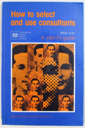 HOW  TO SELECT AND USE CONSULTANTS  by  MILAN KUBR , 1993