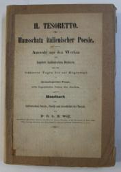 IL TESORETTO - HAUSSCHATZ ITALIENISCHER POESIE von O. L. B. WOLFF , 1846