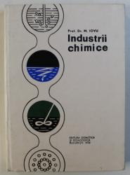 INDUSTRII CHIMICE de M . IOVU , 1972