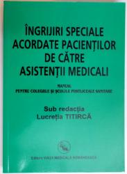 manual de ingrijiri speciale acordate pacientilor de catre asistentii medicali