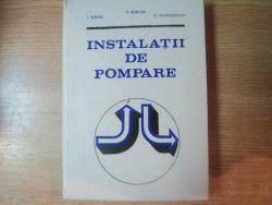 INSTALATII DE POMPARE de V. BURCHIU , O. ALEXANDRESCU , I. SANTAU