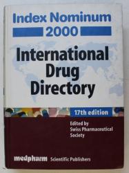 INTERNATIONAL DRUG DIRECTORY  - INDEX NOMINUM , 2000