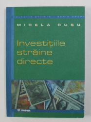 INVESTITIILE STRAINE DIRECTE de MIRELA RUSU , 2000
