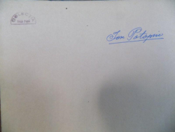 ION POTOPIN , ANII DE DOLIU, MANUSCRIS, COLECTIA SASA PANA