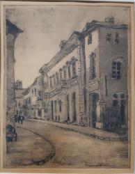 IOSIF ROSENBLUT(1874-1975), STRADA DIN BUCURESTI
