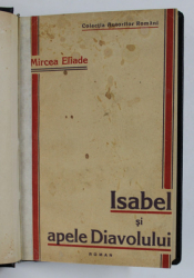 ISABEL SI APELE DIAVOLULUI de MIRCEA ELIADE