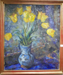 Isidora Constantinovici-Hein (1889-1981), Vas cu flori