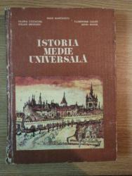ISTORIA MEDIE UNIVERSALA de RADU MANOLESCU , VALERIA COSTACHEL ... , 1980