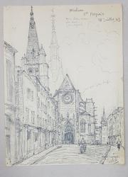 Jean Lefort (1875-1954) - Biserica St. Aspais (Melun)