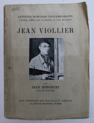 JEAN VIOLLIER par JEAN HERCOURT , COLLECTION