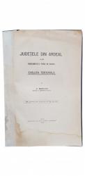 JUDETELE DIN ARDEAL SI DIN MARAMURES PANA IN BANAT de VASILE MERUTIU , 1929