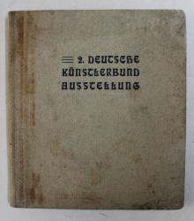 KATALOG DER ZWEITEN AUSSTELLUNG DES DEUTSCHEN KUNSTLERBUNDES , BERLIN 1905