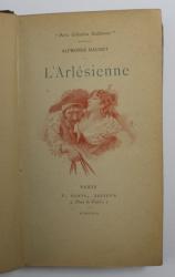 L' ARLESIENNE - PIECE EN CINQ TABLEAUX par ALPHONSE DAUDET , 1892